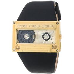 Eos New York Mixtape Watch gold / black Unisex Uhr im Kassettenlook Tape 302SBLKGLD