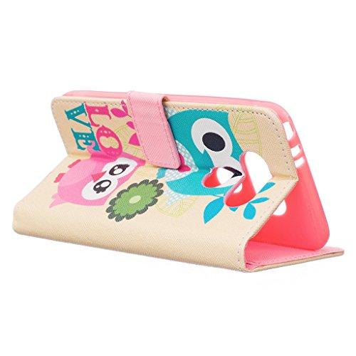MOONBAY MALL Chic Wallet Case Classic Pour Apple iPhone SE / iPhone 5SE / iPhone 5E PU Cuir Étuis Flip Cover housse, Stylus et Film protecteur inclus. A29 A01
