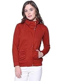 Purys red Winter Fleece Jacket