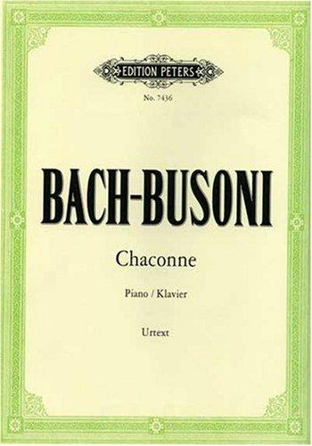 Chaconne d-moll BWV 1004 (mit Varianten aus der Partita Nr. II fur Violine allein)