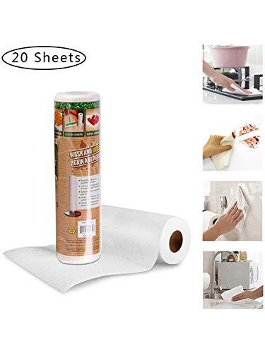oshidede Küchentücher Ölfreies Bambus-Küchentuch für das Badezimmer aus Glasfaser