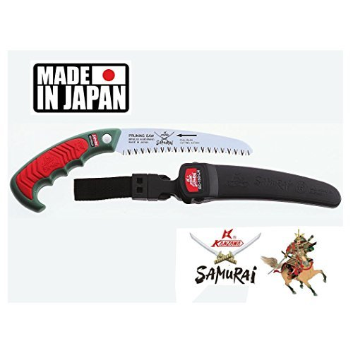 Samurai Ichiban GC-180-LH Handsäge mit Tragekoffer (18 cm) -