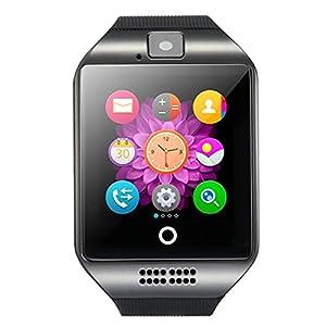 Bluetooth Smartwatch Touchscreen Kamera Wasserdicht Smart Uhr Sport Fitness Smart Watch mit Whatsapp Handy Uhr Bluetooth Uhr Intelligente Armbanduhr Kompatibel IOS Andriod für Herren Damen Kids …