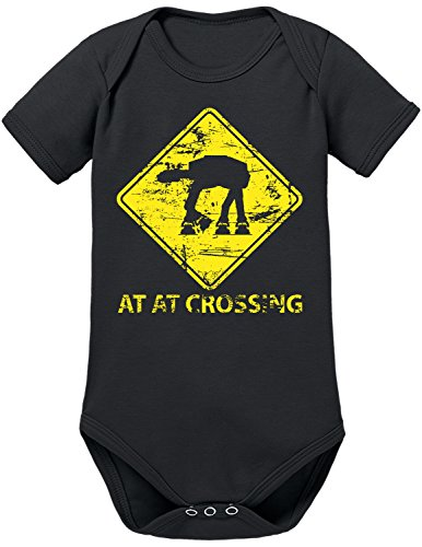 TLM AT-AT Crossing Babybody 68 Schwarz