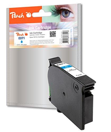 Preisvergleich Produktbild Peach Tintenpatrone cyan kompatibel zu Epson T0712