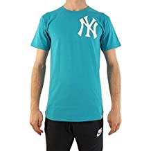 Majestic New York Yankees Noos Gamily T-Shirt Uomo Turchese M (Medium) fc75e274c15c