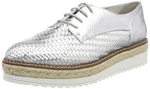 Tamaris Damen 23750 Sneaker, Silber (Silver), 40 EU