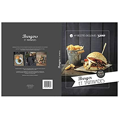 La sélection de burger et tartinades de bread and burger