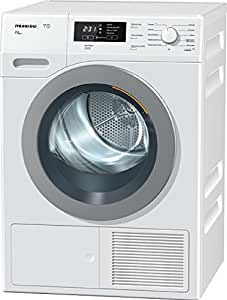 Miele TKB 650 WP LW ECO freestanding Front-load 8kg A++ White tumble dryer - Tumble Dryers (Freestanding, Front-load, Heat pump, White, Buttons, Rotary, Left)