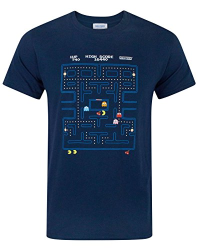 Pac-Man Maze T-shirt for Men - S to XXL