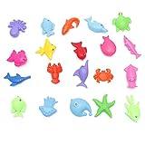 Enyu Pädagogisches Baby-Kind Scherzt Magnetische Angelrute-Fisch-Modell Toy Fun Game Gift