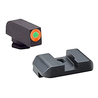 AmeriGlo GL-433 Hackathorn Sight Set for Glock by AmeriGlo