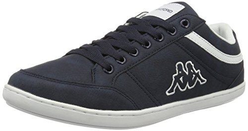 Kappa Kent Low II, Sneakers Basses Homme Bleu (Navy/white)