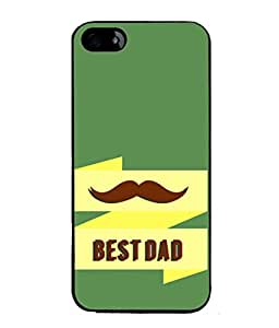 PrintVisa Designer Back Case Cover for Apple iPhone 4 (Dad`s Love My Dad My Hero)
