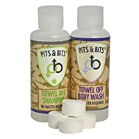 Pits & Bits Small Wash Kit - Transparent Unisex 30