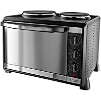 Russell Hobbs Mini Kitchen Multi -Cooker with Hotplates 22780, 1600 W - Silver