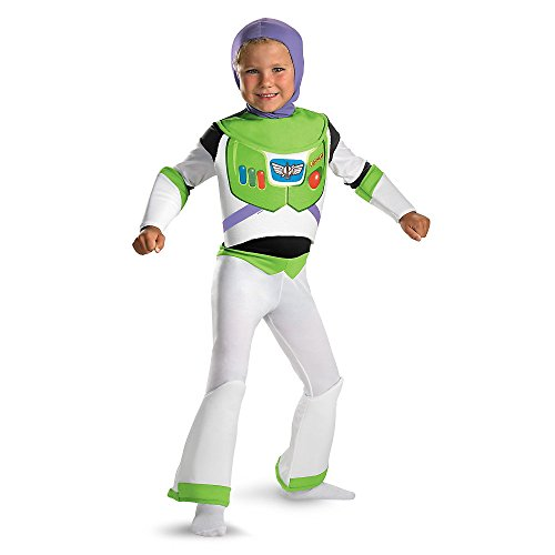 Disguise DI5233-M Buzz Lightyear Deluxe Kinderkost-m Gr--e -