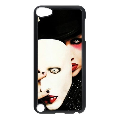 Vcapk Famous Industrial Metal Band Marilyn Manson Lead Singer Brian Warner iPod Touch 5,5G,5th Generation Hard Plastic Phone Case -