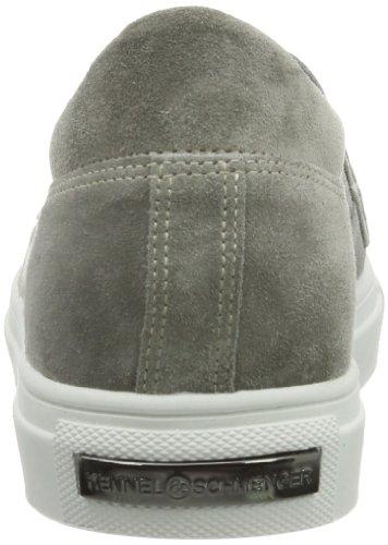 Kennel und Schmenger Schuhmanufaktur Basket Damen Sneakers Grau (Stone)