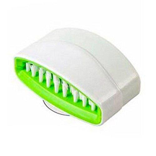 SODIAL(R) 1 Kitchen Dish Brush Vegetable Wash Sponge Utensil Scrubber Sink Cutlery Cleaner