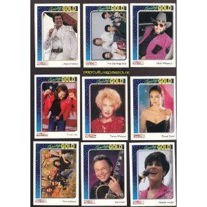 Country Gold 1992 Premier Edition Series 1 Trading Cards Factory Sealed Hobby Box - 9 Cards Per Pack - 36 Packs Per Box - Total of 324 Cards - Possible Tracy Lawrence or Mark Miller Autograph!