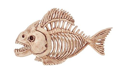 Fisch Laterne Kostüm - WSJDE Fantasie-Knochen-Skeleton Fisch-Ausgangshalloween-Party-Dekoration
