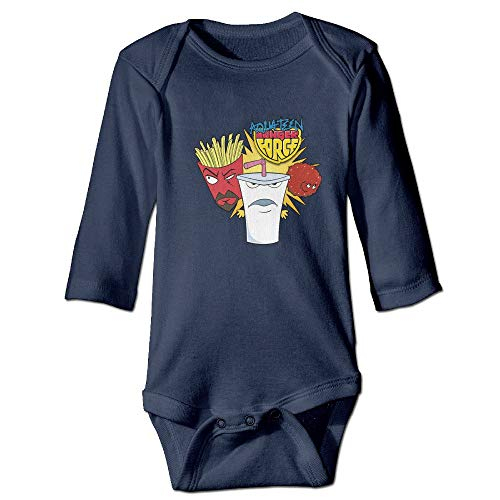 magic ship Aqua Teen Hunger Force Baby Long Sleeve Bodysuits 6 M