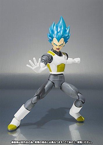 Bandai Tamashii Nations Super Saiyan Dios Super Saiyan Vegeta Figura de acción Dragon Ball Super 5