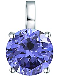 Rafaela Donata - Pendentif - Argent sterling 925 oxyde de zirconium, pendentif oxyde de zirconium, bijoux en argent - 60837055