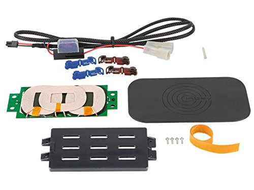 ACV Induktive Ladung Qi, Set mit 3 Spulen und Platte + Glasfaser