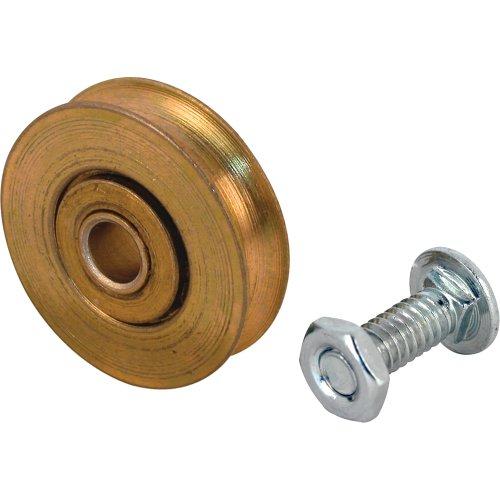 slide-co 131895Schiebetür Roller Assembly mit 1-1/8Zoll Stahl Kugellager und 1/4-Zoll-Loch, 2er Pack (Kugellager 1 4 Zoll)