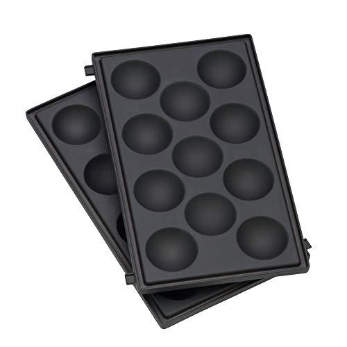 WMF Lono Snack Master Muffin Platten-Set, Zubehör, 2 abnehmbare Plattensets, antihaftbeschichtet
