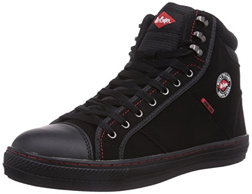 Lee Cooper Workwear Baseball, Men's Safety Shoes, Black, 10 UK