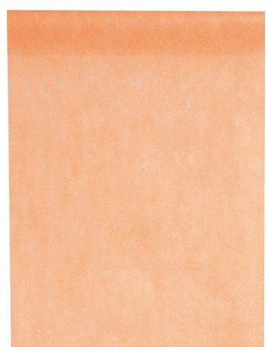 Santex Tischläufer Vlies apricot 30cm x 10m (Für Tischläufer Günstige Hochzeit)