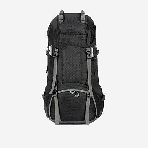 LXJL 60L Leichter Wanderrucksack, multifunktionale Wasserabweisende lässige Camping Trekkingrucksack für Radfahren Reisen Klettern Bergsteiger Outdoor-Sport,B