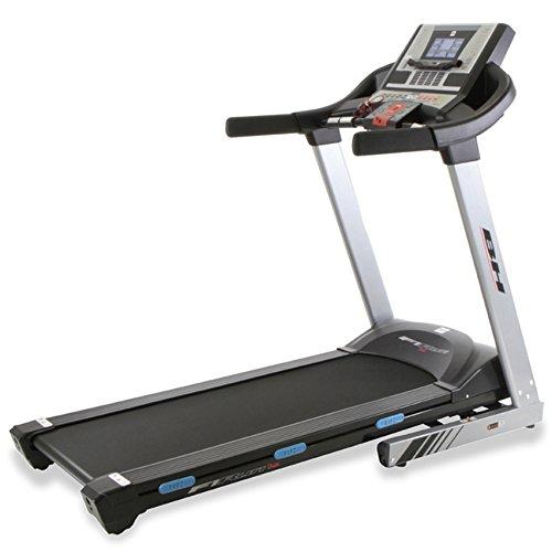 """BH Fitness F1 RUN DUAL G6414N klappbares Laufband - 2.75PS-Motor - 1 -18 km/h - 6.8"""" LCD-Bildschirm - Elektrische Schrägstellung bis zu 12% Steigung - Anschluss von Smartphones/Tablets"""