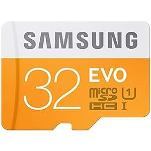 Samsung Evo MB-MP32D 32GB UHS-I Class 10 Plus MicroSDHC Memory Card