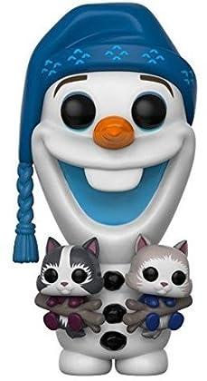 Funko Pop Vinilo: Frozen: Olaf w/Kittens, (21573)