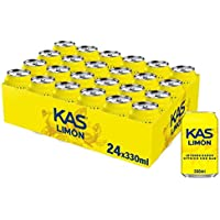 Kas Refresco de Zumo de Limón - Paquete de 24 x 330 ml - Total 7920