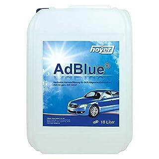Hoyer AdBlue Kanister, 10 Liter + Befüllschlauch