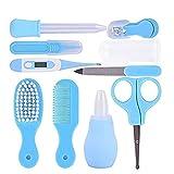 240 * 197 * 38mm mütterlichen und kind neugeborenen pflege kit blau 1 satz (einschließlich 10 stücke) Produkte für Kinder