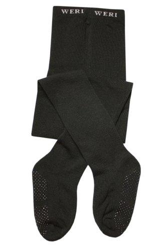 Weri Spezials ABS Kinderstrumpfhose mit Frotee-Sohle in Schwarz Gr.86/92 (18-24 Monate)