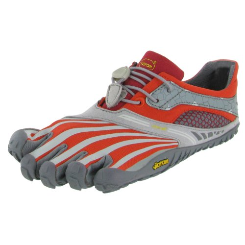 Desconocido  Trekking Light/running W4135 Spyridon Ls, Chaussures de ville à lacets pour femme - orange Orange/gris