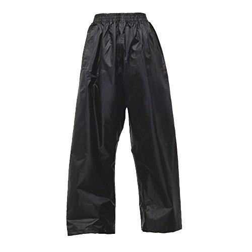 Regatta - Kids Stormbreak Regen-Überhose 128,Black