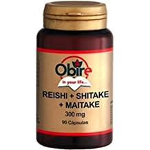 Reishi + shitake + maitake 300 mg 90 cápsulas