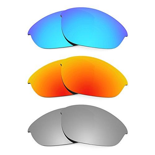Revant Ersatzlinsen für Oakley Half Jacket Polarisiert 3 Paar Kombipack K014