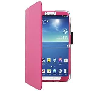 'Bestwe Schutzhülle Kunstleder Fuß integrierter kompatibel Samsung Galaxy Tab 37P3200, Mehrfarbig - Rose Samsung Galaxy Tab 3; 20,3 cm (8 Zoll)