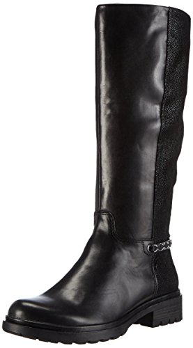 Tamaris 25605 Damen Langschaft Stiefel Schwarz (Black 001)