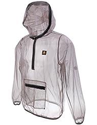 MagiDeal Veste Manteau Anti-moustique Insecte Abeille Mesh Tissu Répulsif à Sec Rapide Vêtement pour Pêche Sport Camping