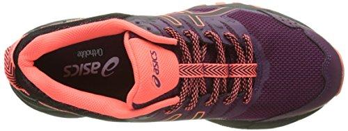Asics Gel-Sonoma 3 G-TX, Scarpe Running Donna Viola (Dark Purple/black/flash Coral)